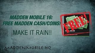 getlinkyoutube.com-MADDEN MOBILE 16: HOW TO GET FREE COINS/MADDEN CASH!