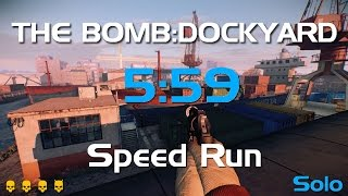 getlinkyoutube.com-Payday2 The Bomb:DockYard DeathWish Solo Stealth Speedrun - 5:59 GT