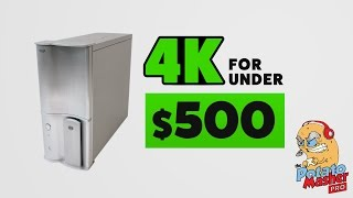 getlinkyoutube.com-4K for under $500 - Introducing the Potato Masher Pro PC!