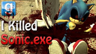 Gmod I KILLED SONIC.exe (Garry's Mod Sandbox w/ Mods)