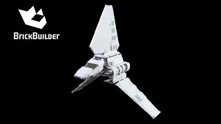 getlinkyoutube.com-Lego Star Wars 75094 Imperial Shuttle Tydirium - Lego Speed Build