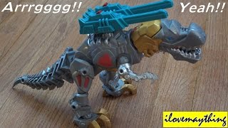 getlinkyoutube.com-Transformers: Unboxing Hero Mashers Transformer Toy Grimlock