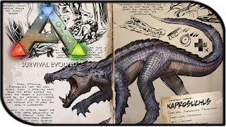 getlinkyoutube.com-Dossier Den - KAPROSUCHUS! (ARK: Survival Evolved Dinosaurs/News)