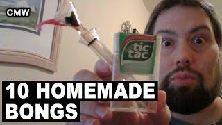 getlinkyoutube.com-Top 10 Homemade Weed Bongs