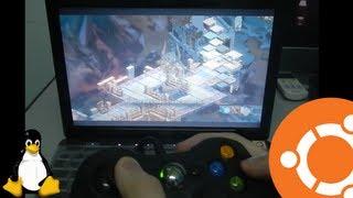 getlinkyoutube.com-HP DV3500 Laptop running Ubuntu 13.04 Gaming with Nvidia 9300M GS