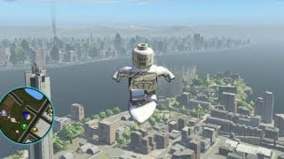 LEGO Marvel Super Heroes - Unlocking Silver Surfer + Gameplay (All Silver Surfer Missions)
