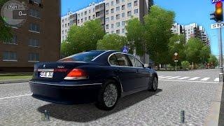 getlinkyoutube.com-City Car Driving 1.4.1 BMW 760i E65 V12 TrackIR 4 Pro [1080P]