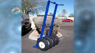 getlinkyoutube.com-Big Dolly for Inflatables, Heavy Duty Hand Truck for Inflatables, HD4