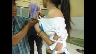 getlinkyoutube.com-Sobek sobek kaos Model - Hot - GGModel Indonesia - GGModel Solo -
