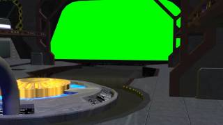 getlinkyoutube.com-Spaceship Hangar Video Background Set with Sound C