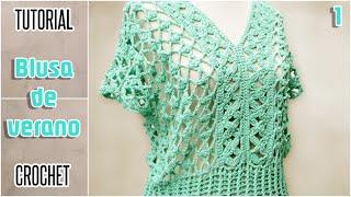 getlinkyoutube.com-DIY Blusa para mujer, todos los talles - Tutorial paso a paso (1 de 2)