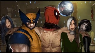 getlinkyoutube.com-Deadpool: The Game - Meeting Mr Sinister, Wolverine, Domino, Psylocke and Rogue for first time
