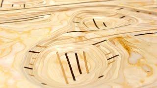 getlinkyoutube.com-Sculpted Plywood Wall Art