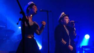 getlinkyoutube.com-Luc Van Acker (With Anna Domino) - Zanna (Live @ AB - 17-02-2012)
