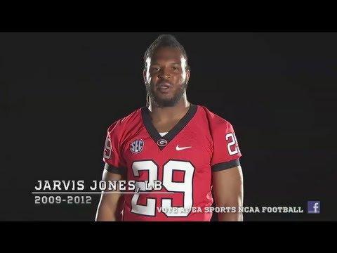 Georgia OLB Jarvis Jones wants your NCAA Football 14 Cover Vote!