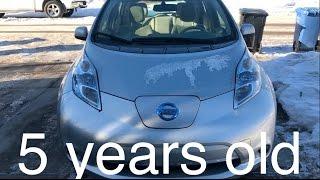 getlinkyoutube.com-Nissan Leaf 5 year review