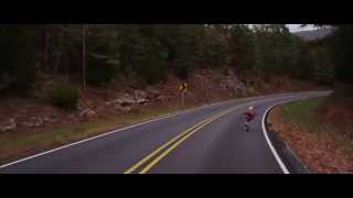 getlinkyoutube.com-Longboarder hits deer while riding in the Ozarks