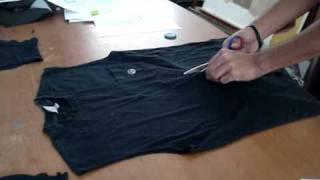 getlinkyoutube.com-A simple vest from a T-shirt by Andreas