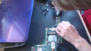 getlinkyoutube.com-HP g6 series g6-2279wm power issue repair no power up repair fix dead fix