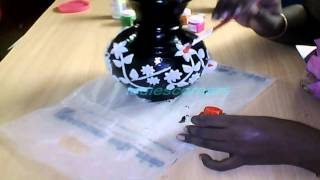 getlinkyoutube.com-learn how to make a pot painting new