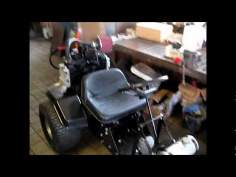 Home made lawn mower  go-kart - project Black Betty (part 1)