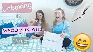 getlinkyoutube.com-Unboxing My MacBook Air 13inch!!! 😀😜☺️