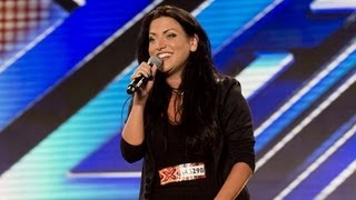getlinkyoutube.com-Nicola Marie's audition - Taylor Dayne's Tell It To My Heart - The X Factor UK 2012