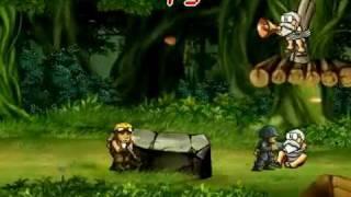 getlinkyoutube.com-Dross juega Metal Slug