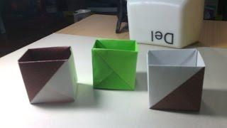 getlinkyoutube.com-วิธีพับกล่องง่ายๆจากกระดาษแผ่นเดียว