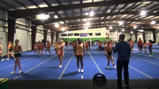 getlinkyoutube.com-Stingray Allstars Orange 2015 NCA preparation video