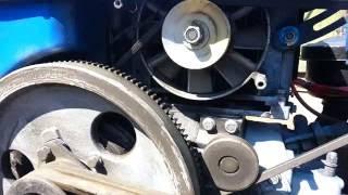 getlinkyoutube.com-Установка генератора на тяжелый мотоблок