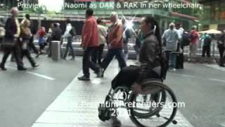 getlinkyoutube.com-P38 - Naomi as Wheelchair RAK pretender