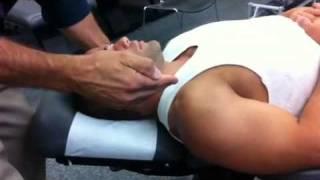 getlinkyoutube.com-3Rd- Supine Cervical Spine P-A Pillar Push