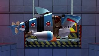 getlinkyoutube.com-Hungry Shark Evolution Robo Shark Android Gameplay #17