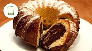 getlinkyoutube.com-Rezept: Marmorkuchen backen #chefkoch