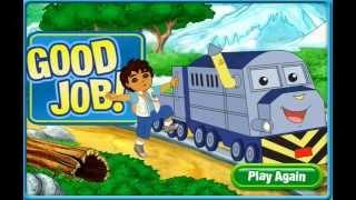 getlinkyoutube.com-Go Diego Go! Diego's Railroad Rescue FULL Game in HD English - Episode 1