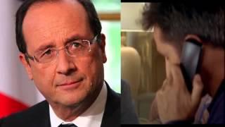 """getlinkyoutube.com-Parodie du film """"Le diner de con"""" avec François Pignon/Hollande"""