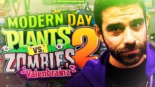 getlinkyoutube.com-Plants vs Zombies 2 - VALENBRAINZ