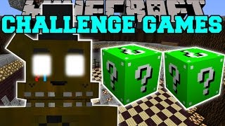 Minecraft: PHANTOM FREDDY CHALLENGE GAMES - Lucky Block Mod - Modded Mini-Game