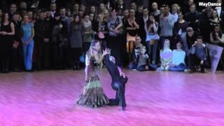 getlinkyoutube.com-Slavik Kryklyvyy & Karina Smirnoff - Paso Doble - Kyiv Open 2015