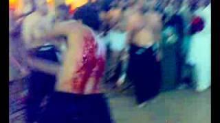 bawa qaiser shah badshah zanjeer zani at jhoolay lal badshah 2009