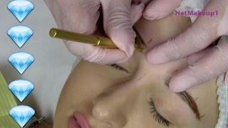 getlinkyoutube.com-Diamant Blading / Helin's Eyelashes / PMU