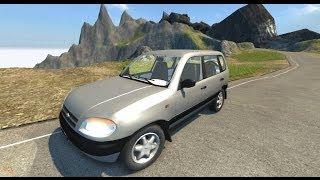 getlinkyoutube.com-BeamNG.Drive Mod : Chevrolet niva (Crash test)