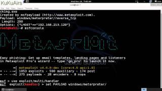 getlinkyoutube.com-Metasploit windows 7 Hacking - KuKuAirs