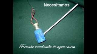 getlinkyoutube.com-Minibomba de agua casera............... caseiro água mini- bomba