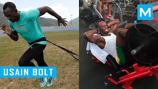 getlinkyoutube.com-Usain Bolt Strength and Conditioning Training | Muscle Madness