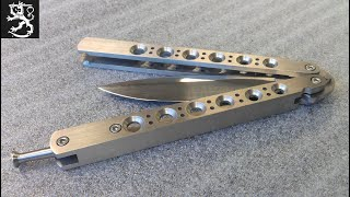 getlinkyoutube.com-How to make a Balisong or Butterfly Knife