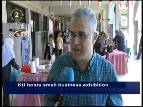 College of Life Sciences organizes small businesses exhibition at Kuwait University Adailiya Campus