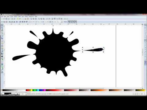 Inkscape Tutorial: Ink Splash