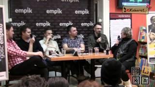 Kabaret Młodych Panów - spotkanie w Empiku
